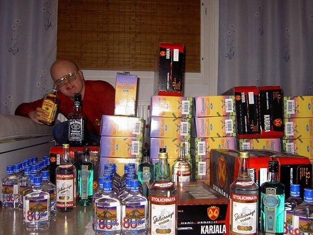 Alkoholia Tallinnasta